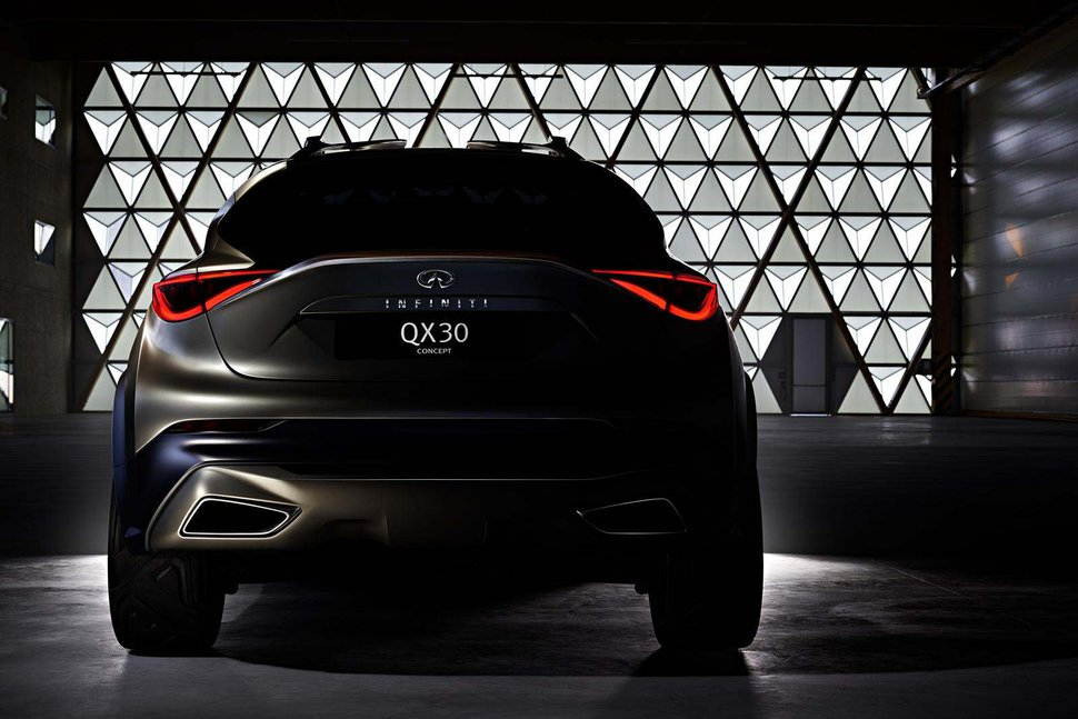 Photo Teaser : Concept Infiniti QX30