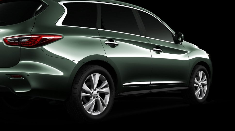Photo Teaser image 7 Infiniti JX Concept