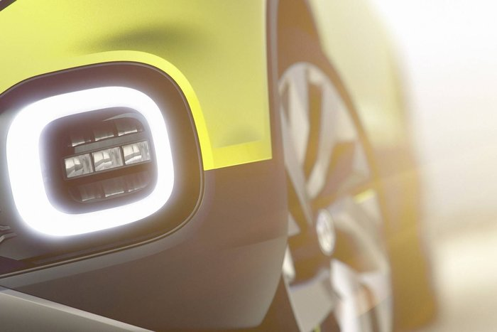 Teaser led : Volkswagen concept SUV compact
