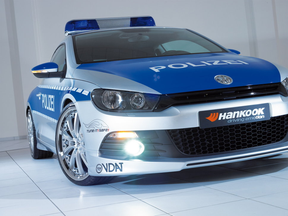 photo voiture de police volkswagen scirocco. Black Bedroom Furniture Sets. Home Design Ideas